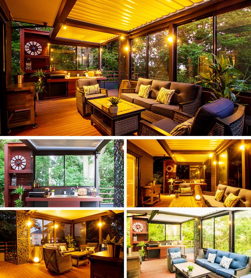 ウリンデッキのあるお庭の風景賞住居部門銀賞デッキのあるお庭の風景賞住居部門金賞作品