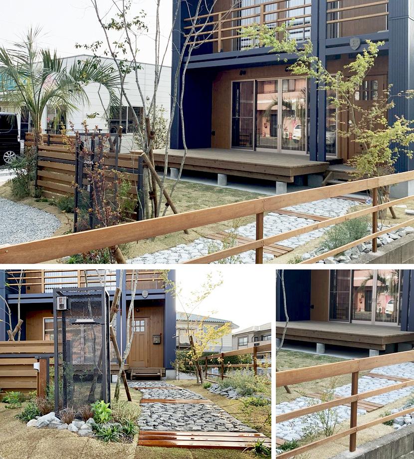 ウリンデッキのあるお庭の風景賞住居部門銀賞デッキのあるお庭の風景賞住居部門銅賞作品